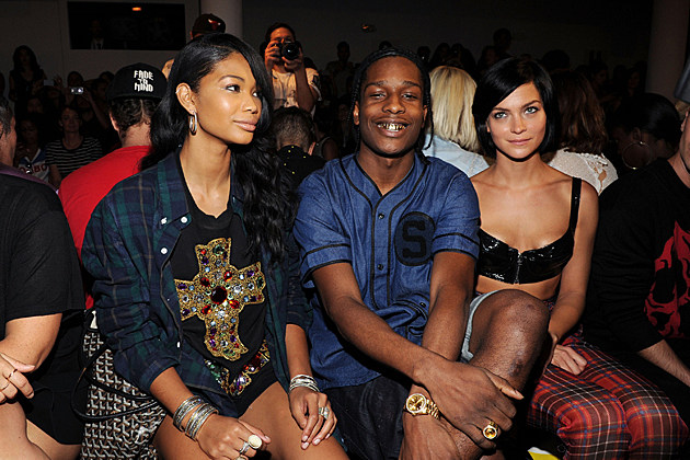 asap-rocky-chanel-iman-new-york-fashion-week