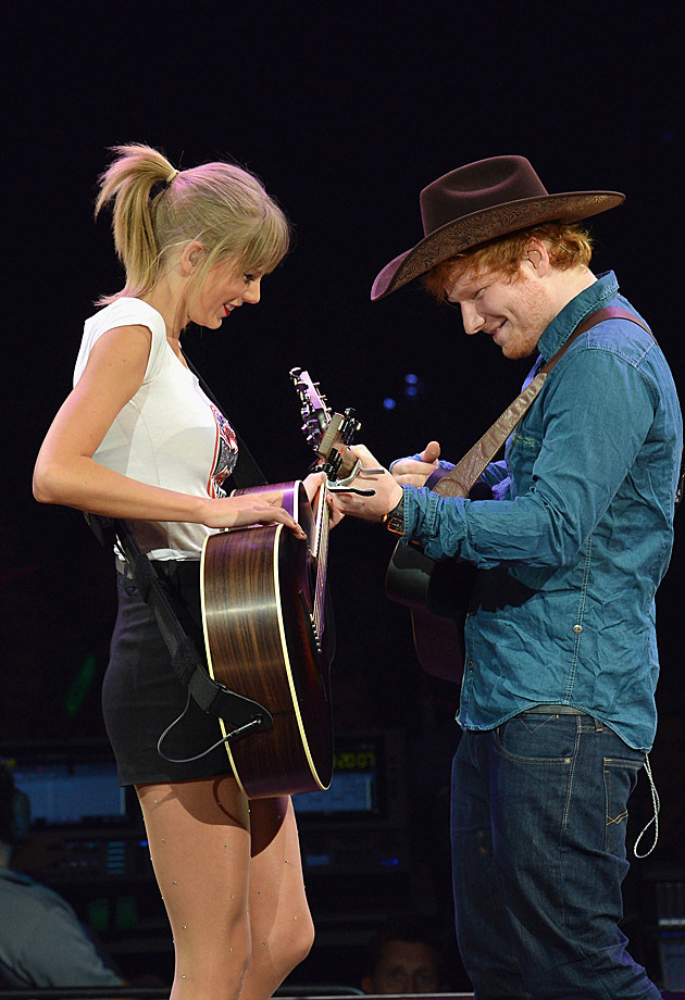 ed sheeran and taylor swift - photo #4