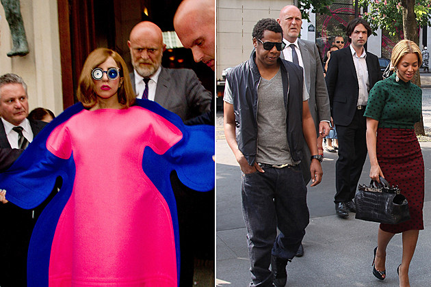 Lady Gaga Beyonce Jay Z Bodyguard