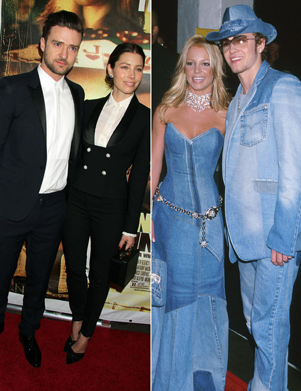 Black Tuxedo vs. Canadian Tuxedo: Which Matching Outfit With Justin ...