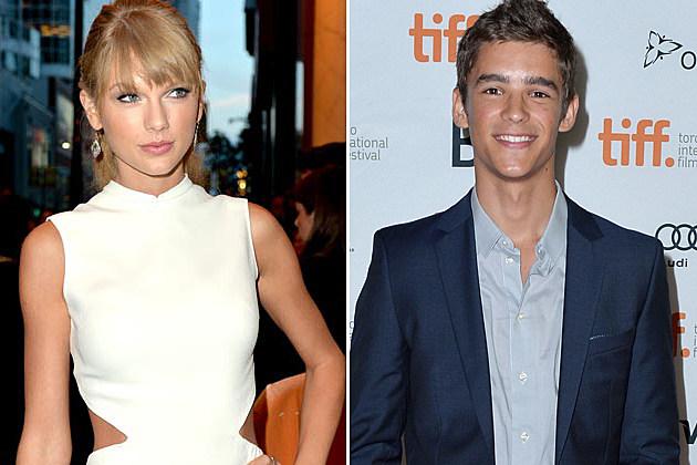 Taylor Swift Brenton Thwaites