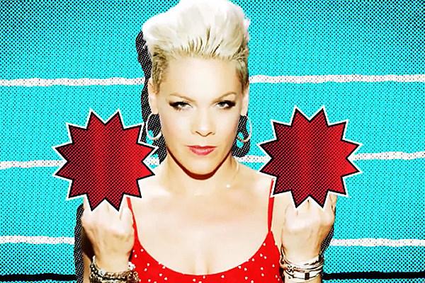 Top 10 Pink Music Videos