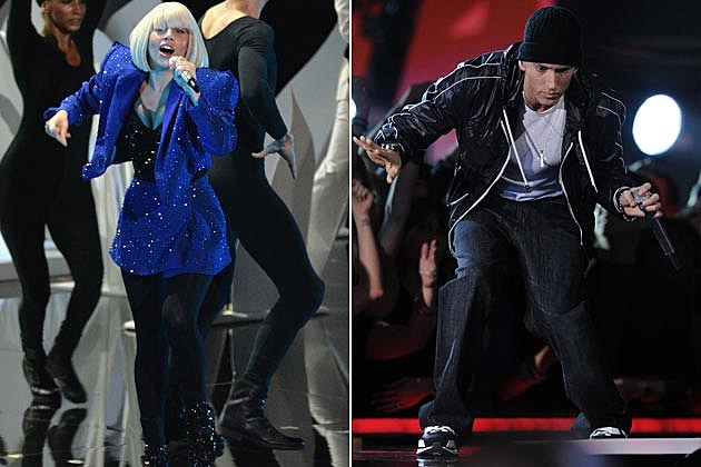 Lady Gaga Eminem YouTube Awards