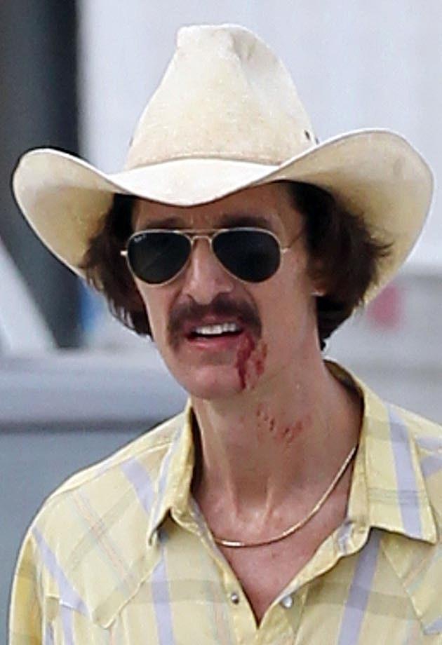 Matthew McConaughey Bloody
