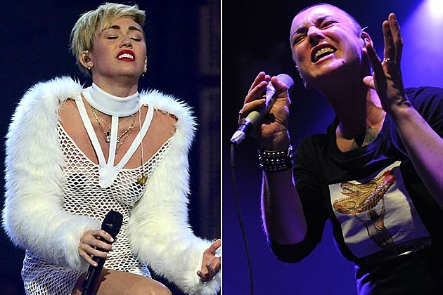 Miley Cyrus Sinead O'Connor