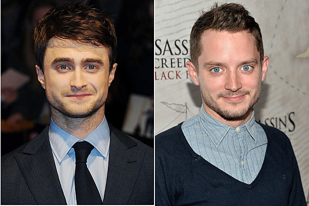 Daniel Radcliffe + Elijah Wood – Celeb Look-Alikes