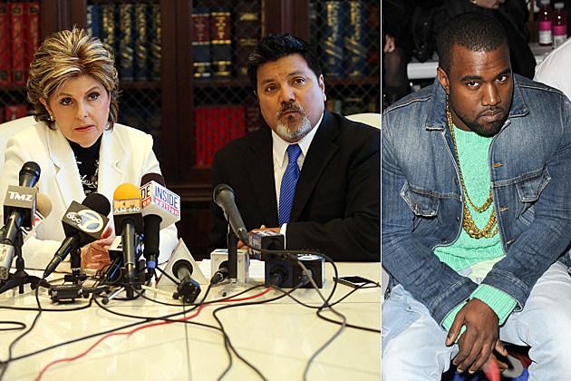 Gloria Allred Daniel Ramos Kanye West