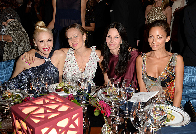 Gwen Stefani, Jennifer Meyer, Courteney Cox, Nicole Richie