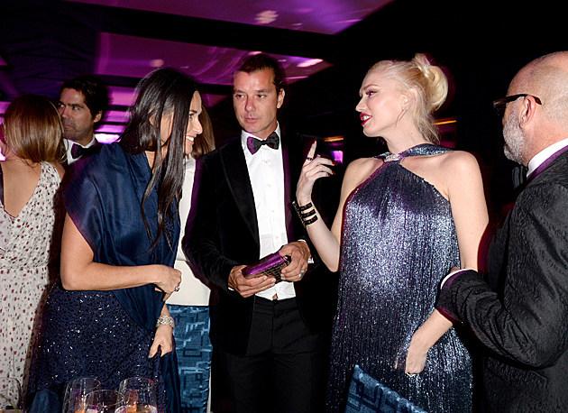 Gwen Stefani, Demi Moore, Gavin Rossdale