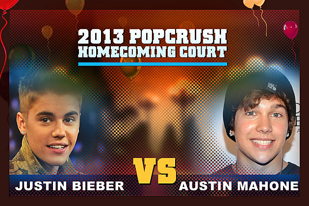 Justin Bieber and Austin Mahone both rule the pop music scene, so it