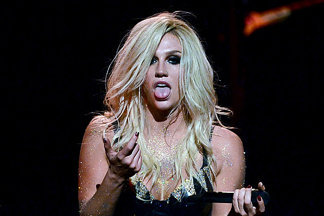 LAS VEGAS, NV - SEPTEMBER 21: Singer Ke$ha performs during the iHeartRadio Music Festival at the MGM Grand Garden Arena on September 21, 2013 in Las Vegas, Nevada. (Photo by Ethan Miller/Getty Images for Clear Channel)