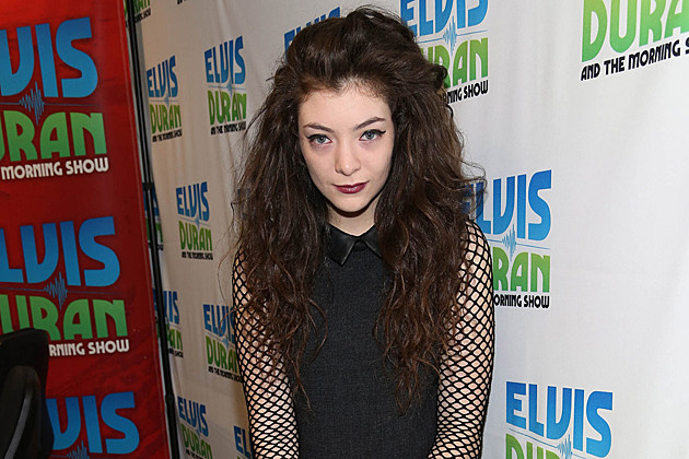NEW YORK, NY - SEPTEMBER 30: (EXCLUSIVE COVERAGE/SPECIAL RATES APPLY) Lorde visits 'The Elvis Duran Z100 Morning Show' at Z100 Studio on September 30, 2013 in New York City. (Photo by Rob Kim/Getty Images)