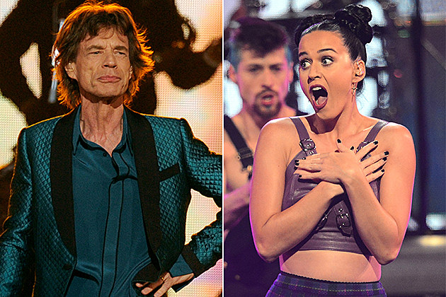 Mick Jagger, Katy Perry