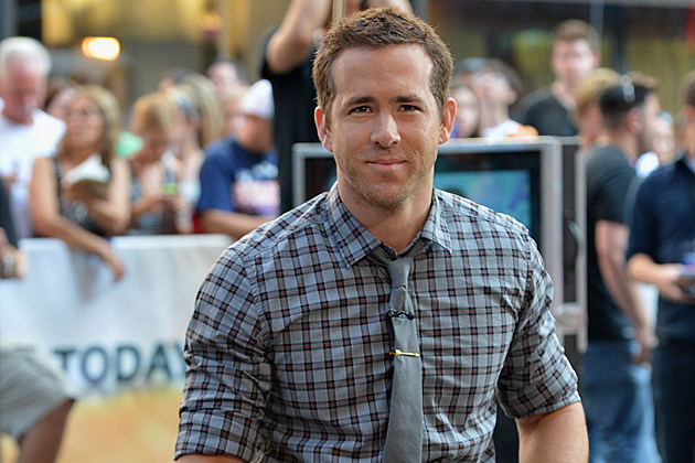 NEW YORK, NY - JULY 09: Actor Ryan Reynolds visits NBC's 'Today'' at Rockefeller Plaza on July 9, 2013 in New York City. (Photo by Slaven Vlasic/Getty Images)