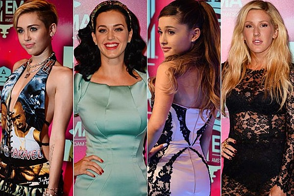 2013 MTV EMAs Red Carpet