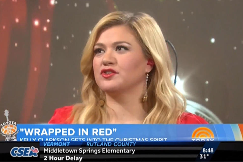 Kelly Clarkson Performs \'Underneath the Tree\' on the \'TODAY\' Show ...