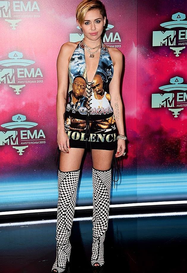 Miley Cyrus 2013 EMAs