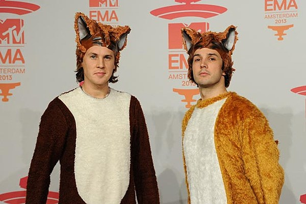 ylvis the fox what does the fox say � song meaning