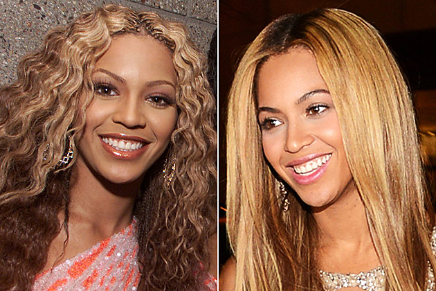 beyonce-nose-job-before-and-after Beyonce nose job before and after Destiny's Child backstage at the MGM Grand in Las Vegas after the 2000 Billboard Music Awards. December 5, 2000 (Photo: Kevin Winter/Getty Images) / NEW YORK, NY - FEBRUARY 12: (EXCLUSIVE COVERAGE) Beyonce attends the after party following the premiere of the HBO Documentary Film 'Beyonce: Life Is But A Dream' at Christie's on February 12, 2013 in New York City. (Photo by Larry Busacca/Getty Images for Parkwood Entertainment)