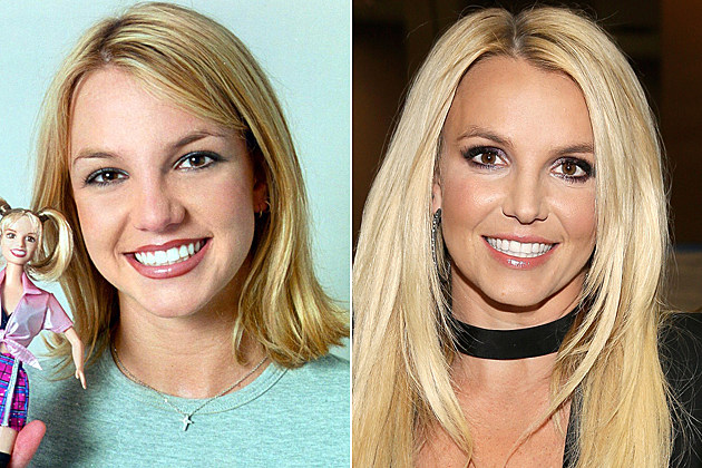 britney-spears-nose-job-before-and-after Britney Spears nose job before and after 374902 01: Look Out For Britney Spears -She's The New Doll From Play Along Toys That's Predicted To Climb To The Top Of The Charts. (Photo By Getty Images) / LAS VEGAS, NV - SEPTEMBER 21: Entertainer Britney Spears attends the iHeartRadio Music Festival at the MGM Grand Garden Arena on September 21, 2013 in Las Vegas, Nevada. (Photo by Isaac Brekken/Getty Images)