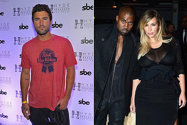 Brody Jenner, Kanye West, Kim Kardashian