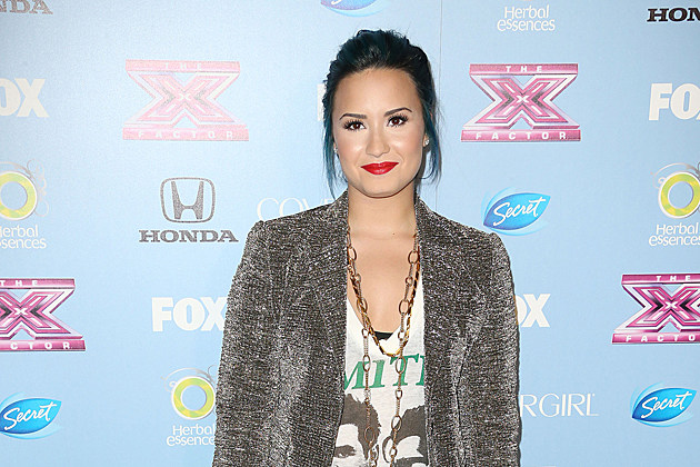 LOS ANGELES, CA - NOVEMBER 04: Singer Demi Lovato attends Fox's 'The X Factor' Finalist Party at the SLS Hotel on November 4, 2013 in Los Angeles, California. (Photo by Frederick M. Brown/Getty Images)