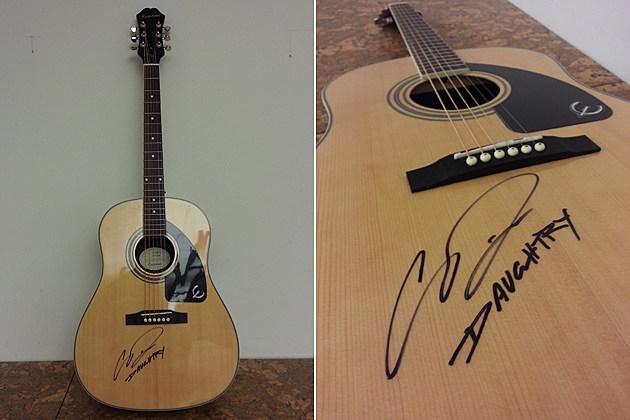 Daughtry Guitar Giveaway