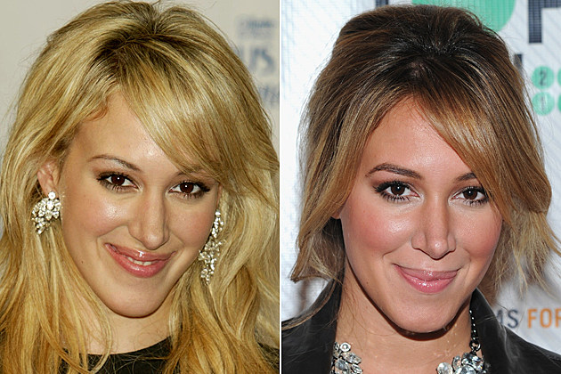 haylie-duff-nose-job-before-and-after Haylie Duff nose job before and after NEW YORK - JULY 28: Singer Haylie Duff attends the Legs of Goddess contest to find the best legs in New York July 28, 2004 in New York City. (Photo by Peter Kramer/Getty Images) / NEW YORK, NY - NOVEMBER 14: Haylie Duff attends the TopSpin 2012 charity event at 82 Mercer on November 14, 2012 in New York City. (Photo by Ilya S. Savenok/Getty Images)