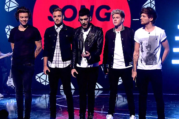 One Direction 'Best Song Ever' at Children in Need 2013