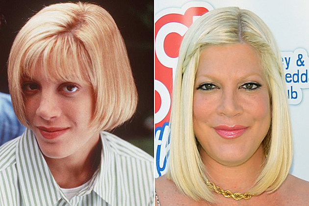tori-spelling-nose-job-before-and-after Tori Spelling nose job before and after 1996 (L-R) Ivan Sergei, Tori Spelling in the new movie Tori Spelling movie 'Mother may I sleep with Danger' / BURBANK, CA - AUGUST 28: Liam McDermott, actress Tori Spelling and Stella McDermott join The Lunchables Team and Club Kids to build a sports court at Boys and Girls Club of Burbank on August 28, 2012 in Burbank, California. (Photo by Alberto E. Rodriguez/Getty Images)