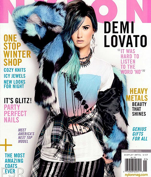 Demi Lovato NYLON Cover
