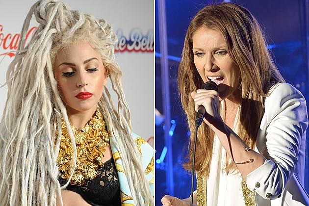 Lady Gaga Celine Dion