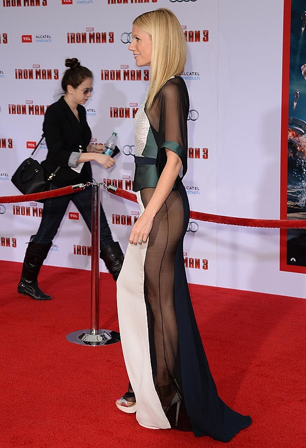 Gwyneth Paltrow Iron Man Premiere