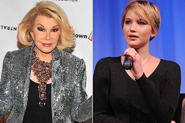 Joan Rivers Jennifer Lawrence