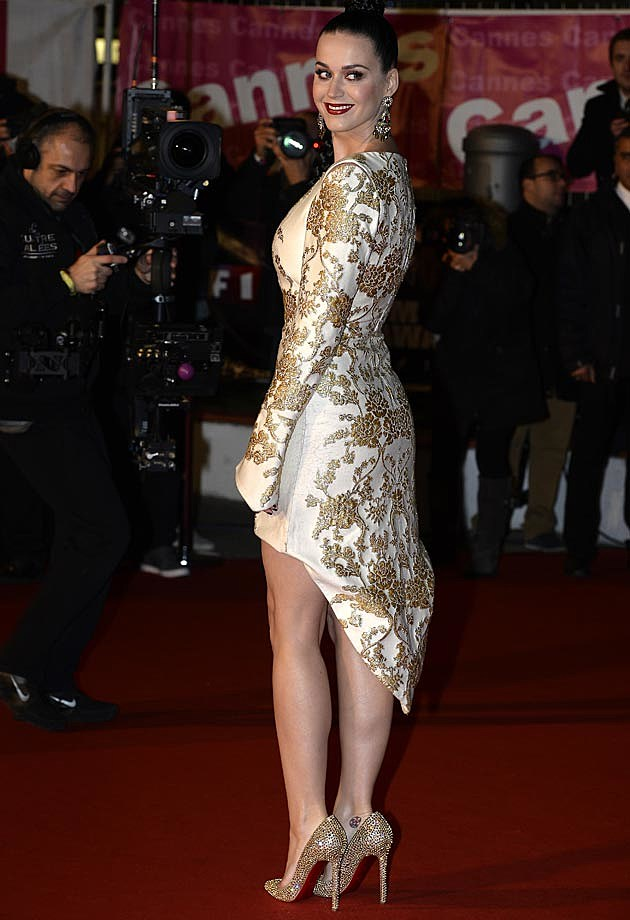 Katy Perry NRJ 2013 Osman Dress