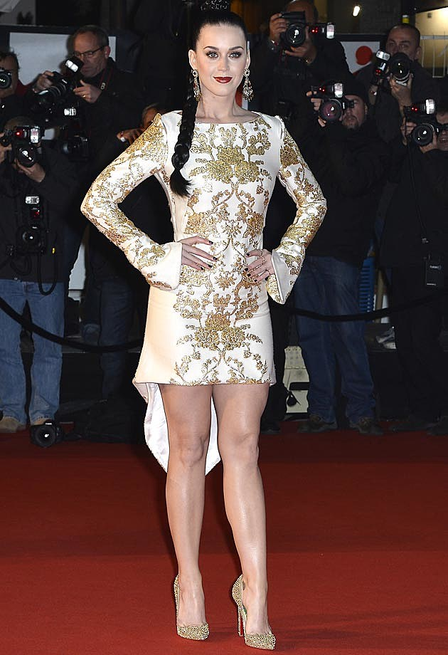 Katy Perry NRJ Awards 2013 Osman Dress