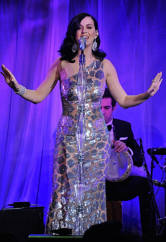 Katy Perry Unicef Snowflake Ball Michael Kors