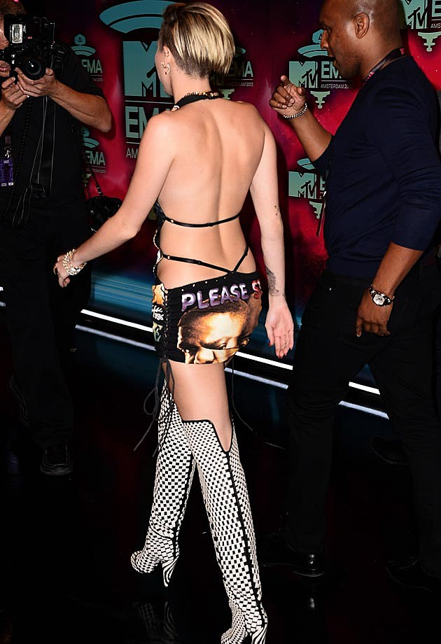 Miley Cyrus EMAS Back