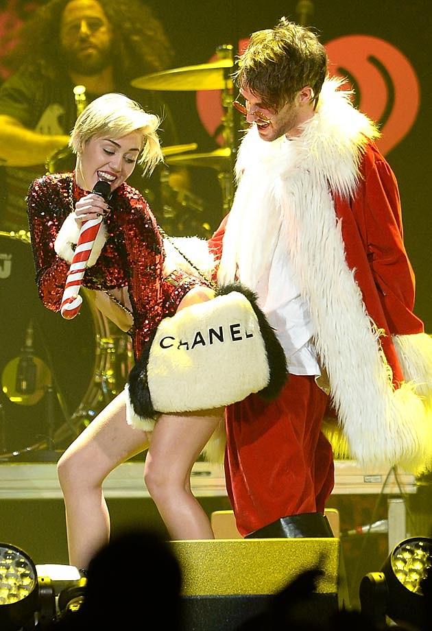 Miley Cyrus Santa