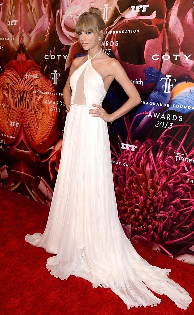 Taylor Swift White Pucci