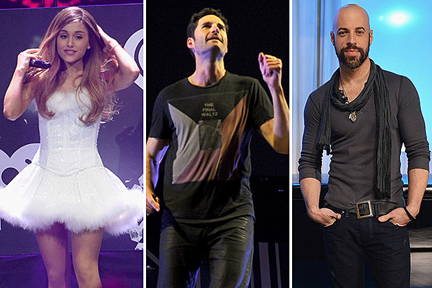 Ariana Grande, Capital Cities, Daughtry