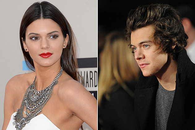 kendall-jenner-harry-styles Kendall Jenner Harry Styles LOS ANGELES, CA - NOVEMBER 24: Model Kendall Jenner attends the 2013 American Music Awards at Nokia Theatre L.A. Live on November 24, 2013 in Los Angeles, California. (Photo by Jason Merritt/Getty Images) LONDON, UNITED KINGDOM - DECEMBER 01: Harry Styles attends the world premiere of 'The Class of 92' at Odeon West End on December 1, 2013 in London, England. (Photo by Stuart C. Wilson/Getty Images)