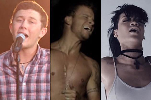 Scotty McCreery Backstreet Boys Rihanna