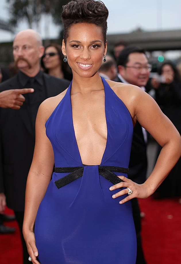 Alicia Keys 2014 Grammys