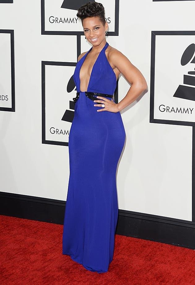 Alicia Keys 2014 GrammysAlicia Keys Grammy Dress