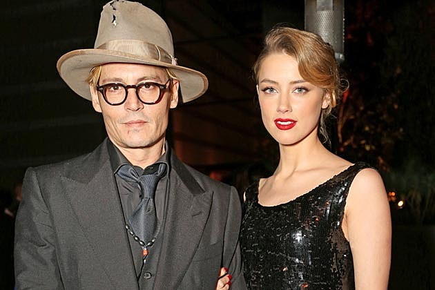Johnny Depp + Amber Heard Engaged