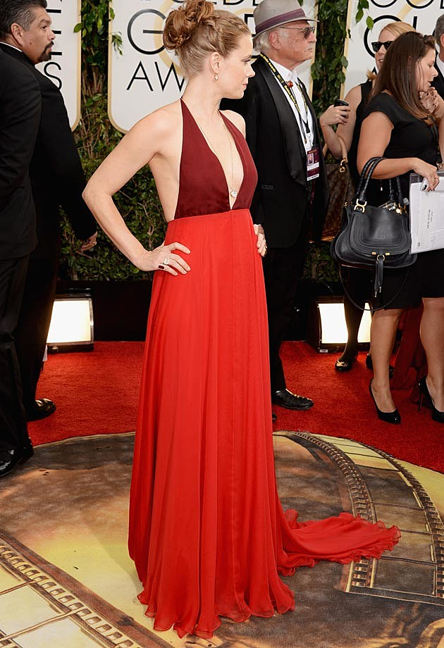Amy Adams 2014 Golden Globes