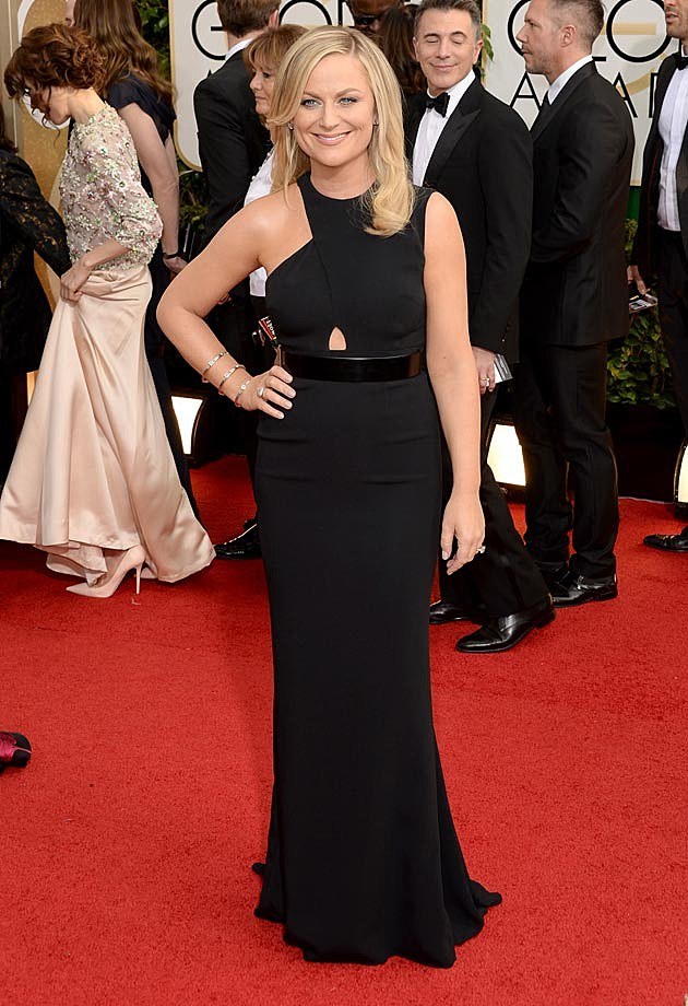 Amy Poehler 2014 Golden Globes Stella McCartney