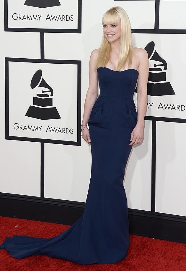 Anna Faris Fritriani Grammys 2014