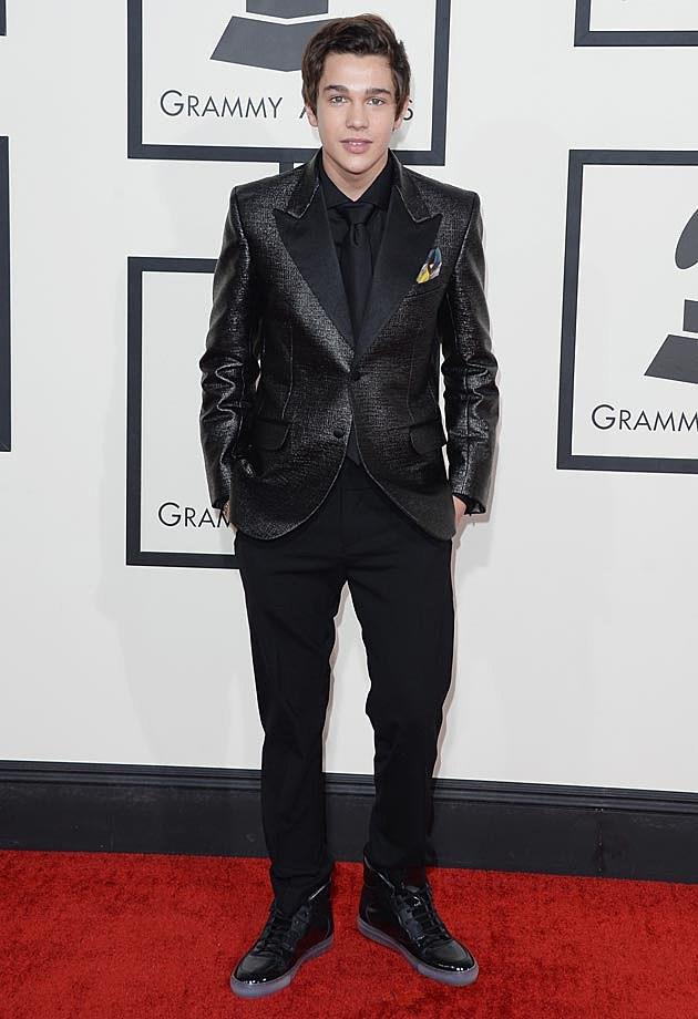 Austin Mahone 2014 Grammys